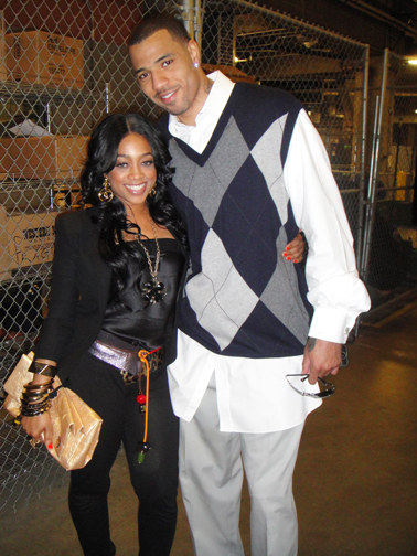 Apparently, Trina is head-over-heels w/ Kenyon Martin.