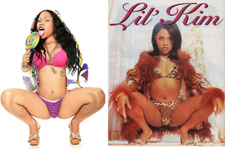 nicki minaj and lil kim similarities