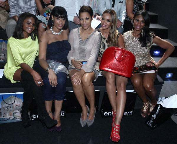 Compliments of I'm Not Jaded, the cast of Basketball Wives was spotted at