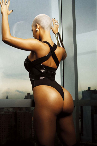amber rose fat photos. Amber Rose#39;s A$$…Sometimes Fat