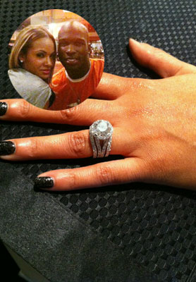 Evelyn lozada engagement ring from ochocinco