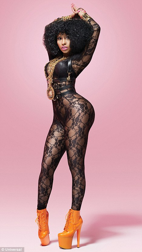 Nicki Minaj's New Shoot Includes Lace, Gold Chains & Curves2. Posted In Blog