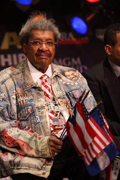 Spotted Don King S Hair Stalked Don King S Jacket