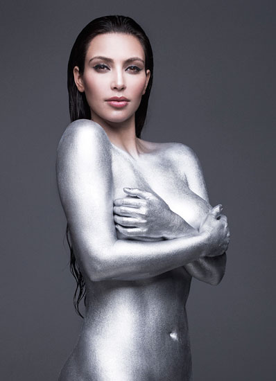 WARNING NSFW) Nude Hustling: Kim Kardashian's Gets Naked for W ...