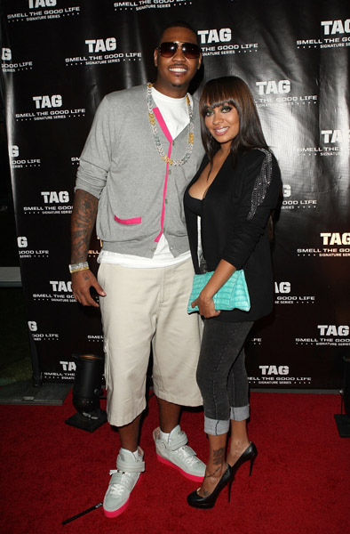 """Carmelo Anthony Defends Lala to NBA Press, """"This is MY career."""""""