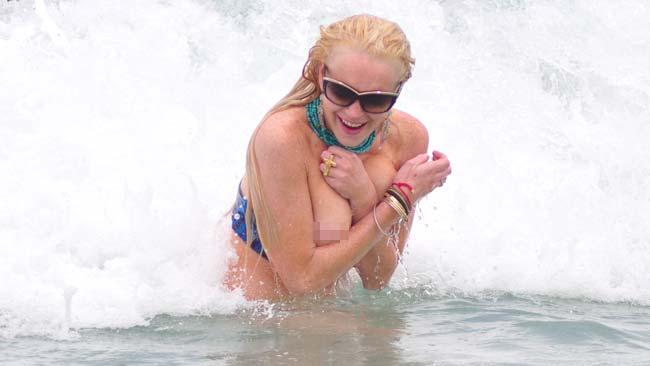Lindsay lohan marilyn monroe naked
