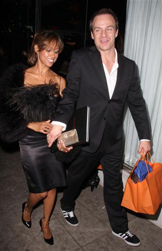 Stacey Dash and husband