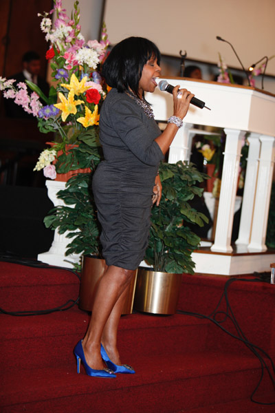 Pix Aretha Franklin Amp Karen Clark Sheard Go To Church