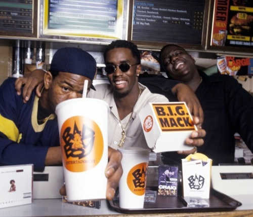 Craig Mac, Sean 'Puffy' Combs, Biggie