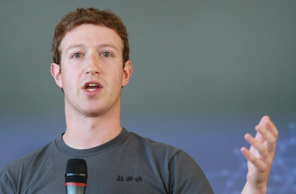 According to Page Six, Mark Zuckerberg (Facebook creator) and Sean Parker ...