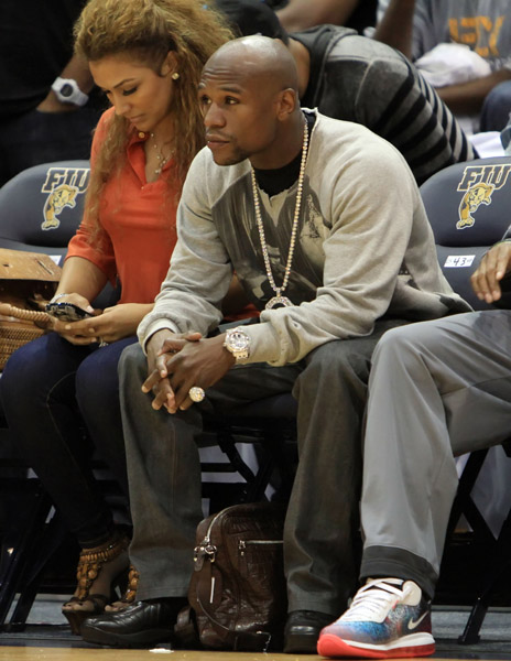 floyd mayweather girlfriend shantel jackson galleryhip     the hippest galleries