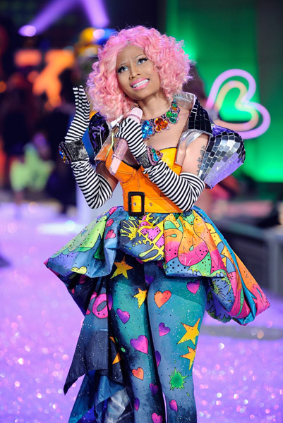 haute or hot mess nicki minajs victorias secret