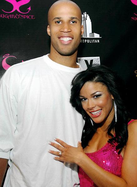 Richard Jefferson and ex Kesha Nichols (formerly of Basketball Wives Miami)