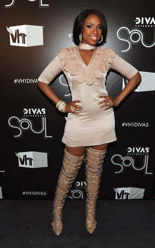 Haute or Hot A** Mess :: Peep Jennifer Hudson's Red Carpet Look - theJasmineBRAND