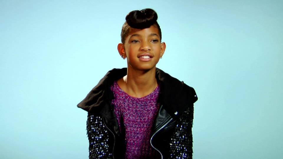 """Willow Smith Tries Her Hand At Kid Cudi's """"All Along ..."""