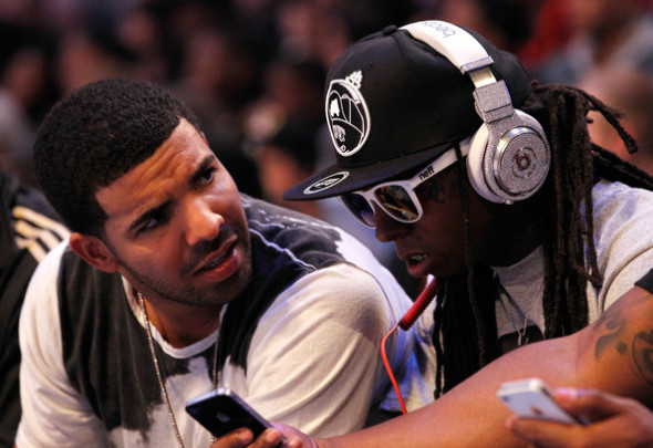 lil wayne_drake_diamond phones