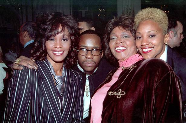 Whitney Houston, Bobby Brown, Cissy Houston, Robyn Crawford