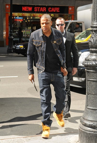 Spotted Stalked Scene Jay Z Heads To Work In Denim