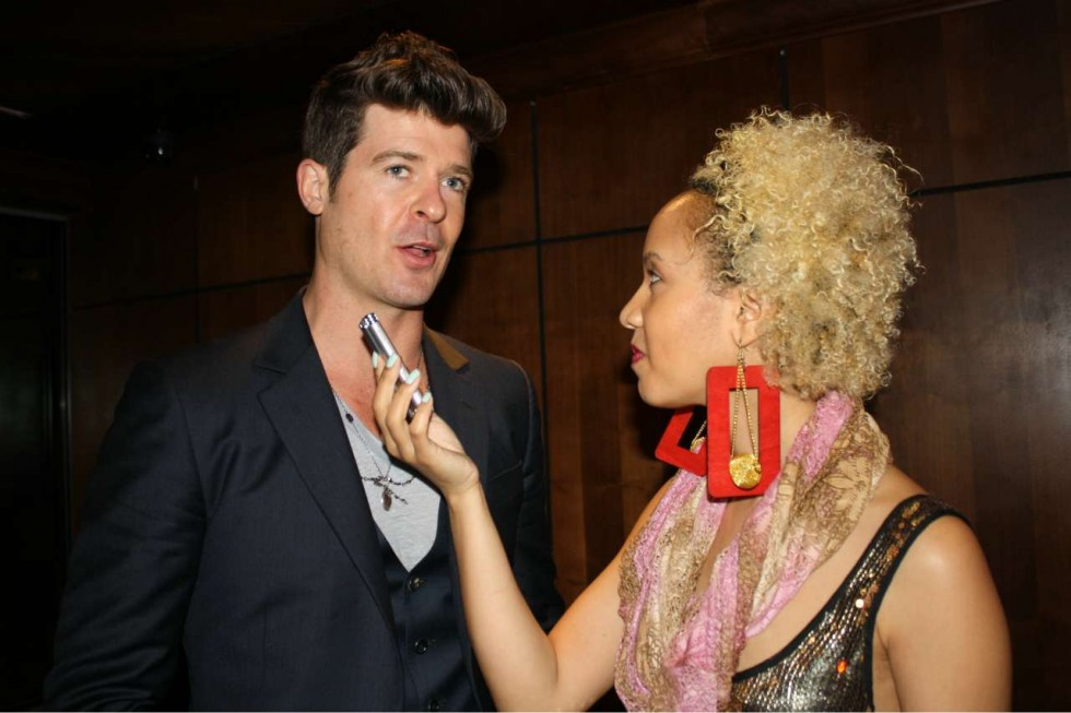 Vintage Interview w/ Robin Thicke 2012