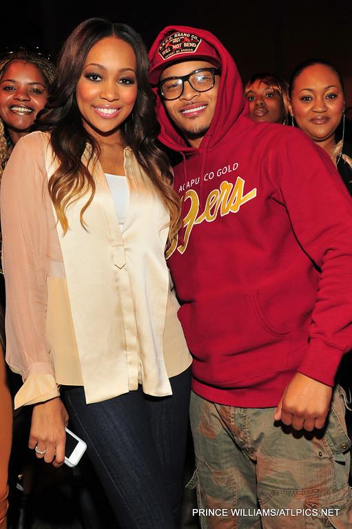 Monica Celebrates Her Album Release With Jermaine Dupri