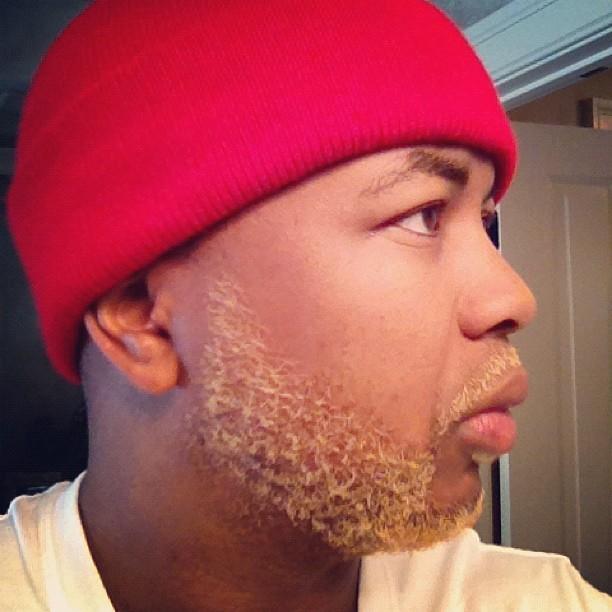 Black Man Dye Hair Blonde