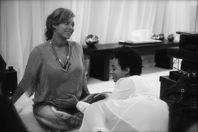 Beyonce Talks Getting Glam Before Pushing Out Blue Ivy ...
