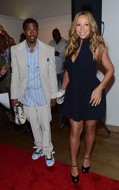 mariah carey_nick cannon_shoe canvas_b_the jasmine brand