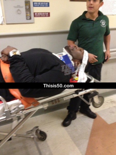 [UPDATED] 50 Cent In Serious Car Accident, Hit by Mack Truck