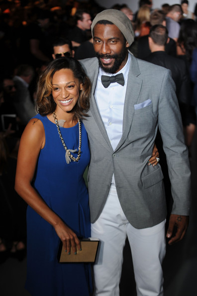 Amare Stoudemire_Alexis Welch_Calvin Klein Collection_Milan Fashion Week_2_thejasminebrand