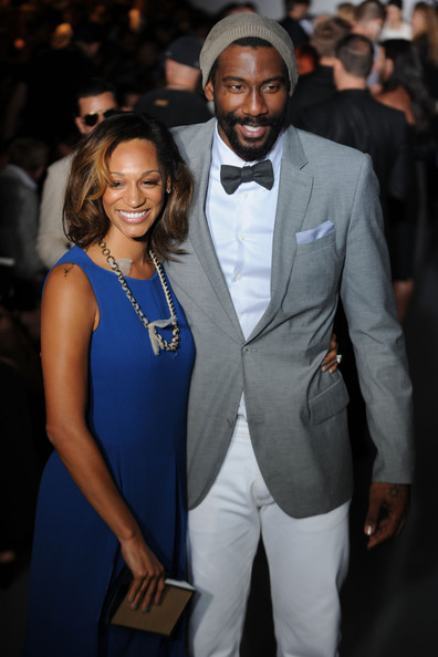 Amare Stoudemire_Alexis Welch_Calvin Klein Collection_Milan Fashion Week_thejasminebrand