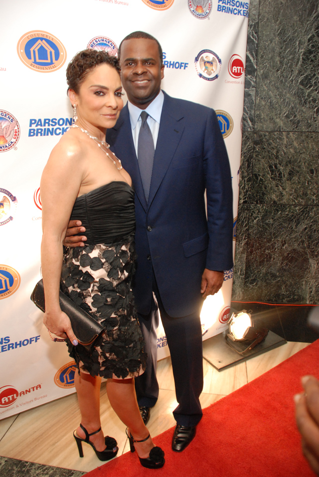 Jasmine Guy_Mayor Kasim Reed_black mayors reception_the jasmine brand