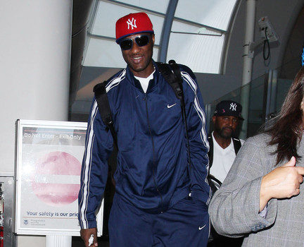 Spotted. Stalked. Scene. Male Edition :: Shaq Directs Traffic, Lamar Odom Hits LAX & More Stalking