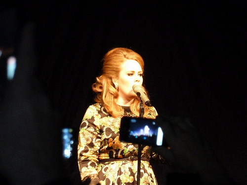 "Ovary Hustlin' Adele Announces ""I'm pregnant…"""