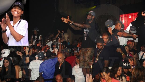 Lebron James' Mama, Gloria, Parties With The Heat + More Post Win Party Details