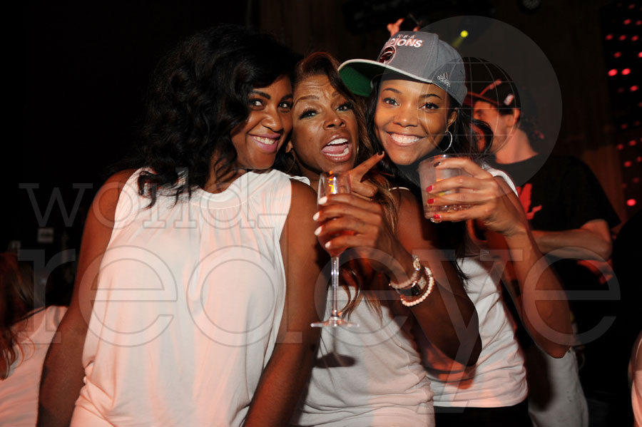 gabrielle union-party-liv-nba championship-the jasmine brand