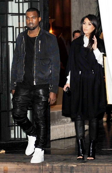 Kanye Leather Pants