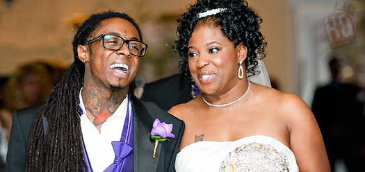 Lil Wayne & His Mother Cover and Debut Wedding Pix for Sister 2 Sister