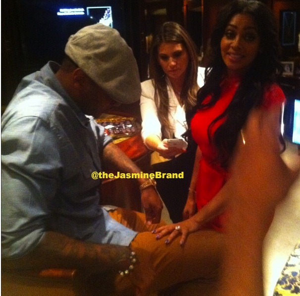 [Photos] Did Melo Lace Lala With $1 Million Dollar Birthday Ring?