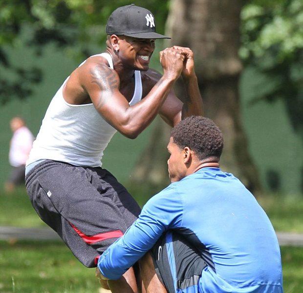 Ne-Yo's Gym Game, Bobby Brown & Wife Hit Beverly Hills + More Celeb Stalking