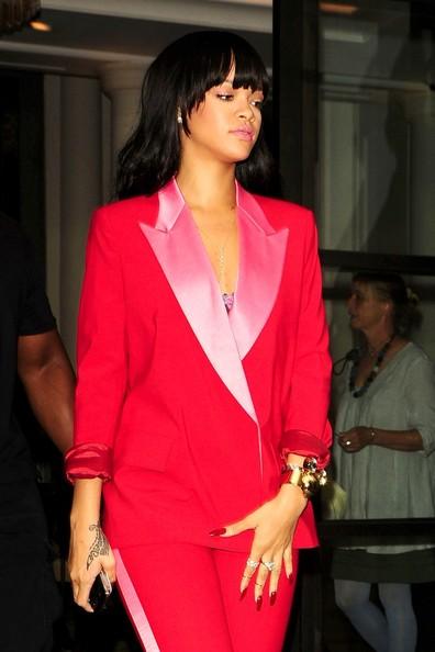 Haute or Hot A** Mess :: Rihanna's Tuxedo Attire