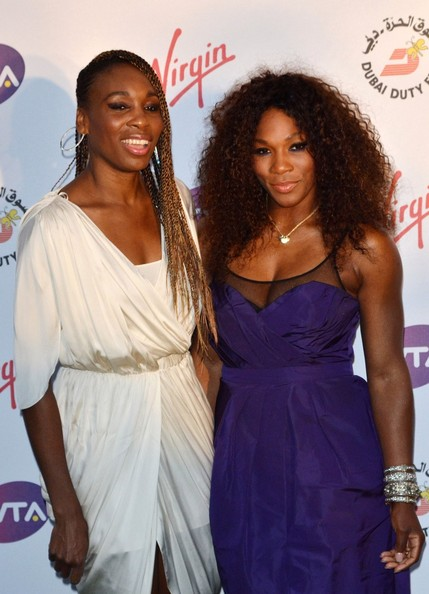 serena williams-venus williams-pre wimbeldon-the jasmine brand