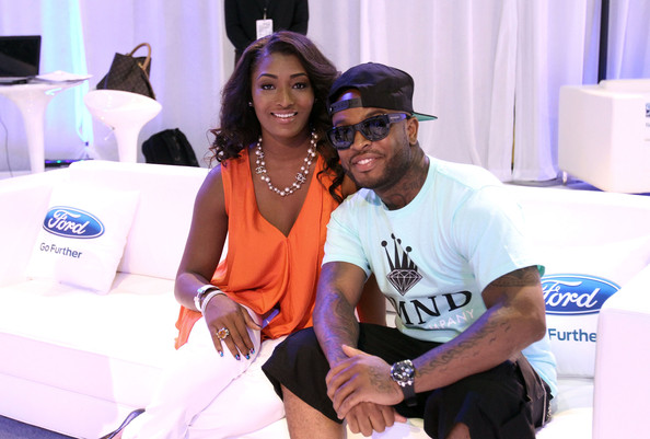 Estelle, Marsha Ambrosius, Claudia Jordan & Celebs Hit BET Ford Event