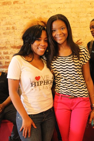 Reality Dopeness : LHHA's Erica Dixon & K.Michelle Give Back To Atlanta Women