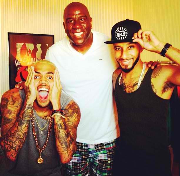 Rihanna Lights Up, Ray-J Celebrates His Grandmother + Chris Brown Hits St. Tropez