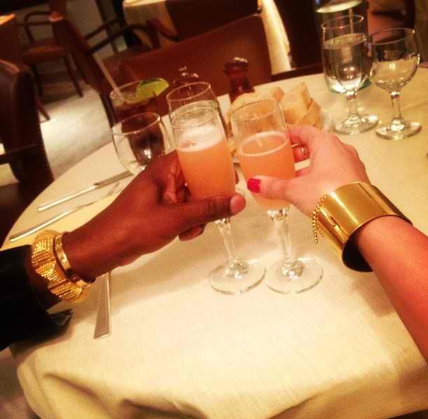 Rich People Sh*t : Kim Kardashian & Kanye West Debut Their Matching Wrists