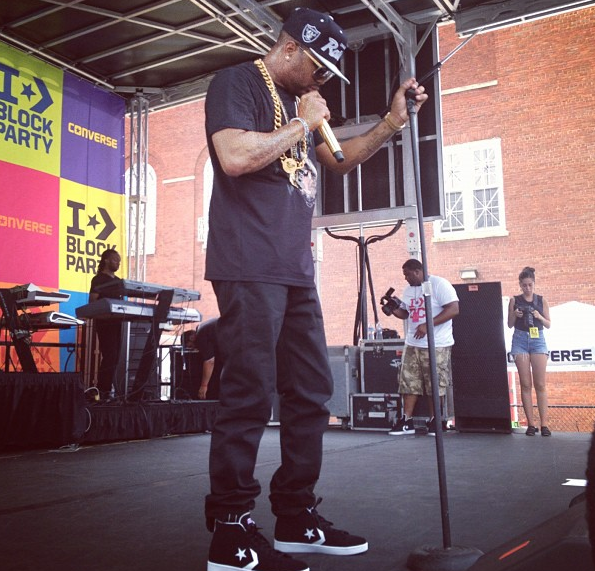 [Videos & Footage] The Dream Hits DC's Converse Block Party