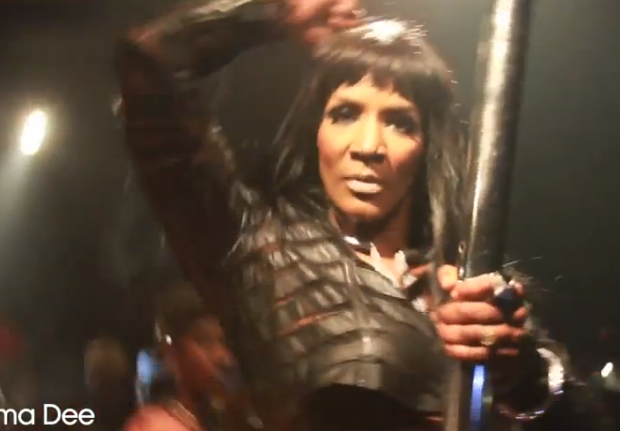 [Video] LHHA's Momma Dee Dances On Stripper Pole, Peep the Footage
