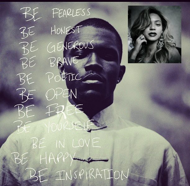 Beyonce Gets Poetic In Her Response to Frank Ocean's Announcement