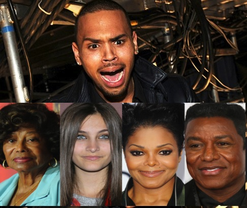 Chris Brown Chastises Jackson Family Fight, 'This Sh*t Gotta Stop!'