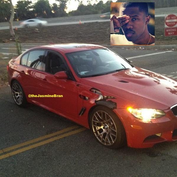 Frank Ocean In Car Accident, Peep the Photos